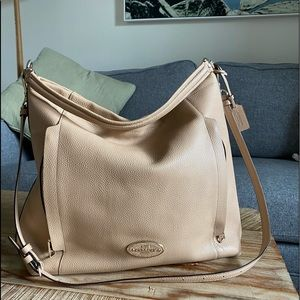 Authentic Coach Large Hobo Bag